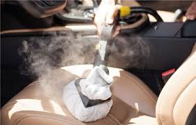 interior cleaning with steam vapour