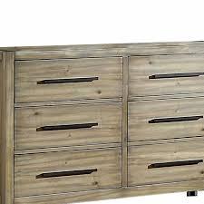 Millwood Pines Rona Wooden 6 Drawer Double Dresser Wayfair