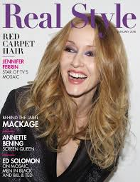 "Mosaic"" Star Jennifer Ferrin Covers Real Style Magazine's January ..."