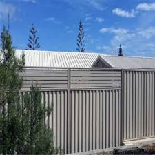 China Solid Corrugated Steel Fence Privacy Fence Panel Colorbond Steel Sheet Steel Fence China Fencing Fence