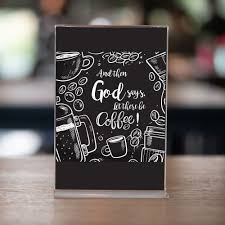 diy coffee bar sign funny quotes about god let there be coffee