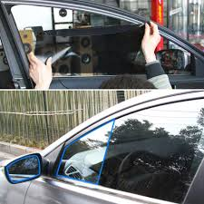 Amazon Com Baost 2 Pcs Car Side Window Static Cling Films Stickers Sun Shade Stickers Uv Protection Shield Visor Uv Rays Protector Car Windshield Sunshade For Pet Baby Protection Home Kitchen