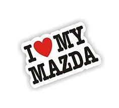 Sea View Stickers I Love My Mazda Car Va Buy Online In Antigua And Barbuda At Desertcart