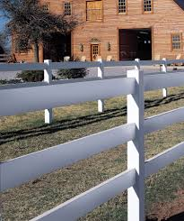 Bufftech 3 Rail Post Rail Smooth Vinyl Fence Liw Online