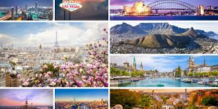 my 10 most favorite cities great for