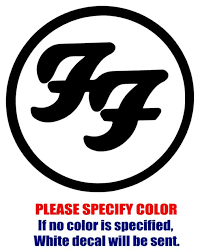 Foo Fighters Band Rock Vinyl Decal Car Sticker Window Bumper Laptop Tablet 9 For Sale Online