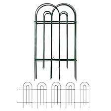 Amagabeli 24 Inch X 10 Feet X 2 Packs Green Wire Folding Fence Garden Fencing Lawn Bordering Decorative Fences Set Garden Border Fence Garden Fence Panels Garden Border Fencing Buy Products Online With