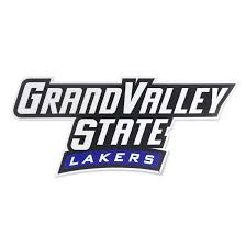 Grand Valley State University Wordmark Logo Car Decal Nudge Printing