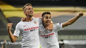 Inter unchanged for Europa League final, De Jong starts for Sevilla