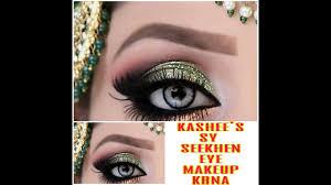 kashee s eye makeup glamorous bridal