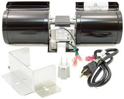 fk23 fireplace blower fan kit for