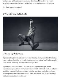 what are kettlebells learn the