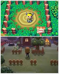 I Just Realized Since We Can Place Fences Furniture Outdoors We Can Pay Homage To Gcn And Make Our Own Dump On Our Island What Other Things Can We Honor From Past Games