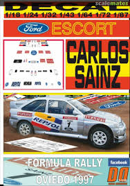 Ford Escort Rs Cosworth Repsol Decal Designers 1 116