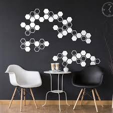 Vinyl Wall Art Decal Honeycomb Hexagon Pattern 22 5 X 40 Moder Imprinted Designs