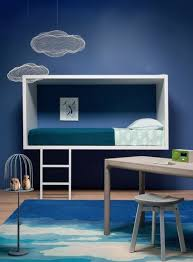 Cool Blue Kids Room Design Ideas