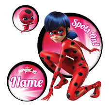 Personalized Miraculous Ladybug Spots On Easy Move Canvas Decal