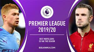 Best Premier League midfielders of 2019/20 so far