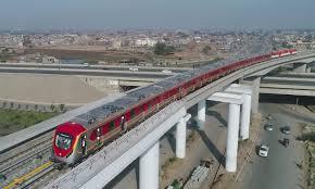 Orange Line Metro Train Lahore Expected fair project