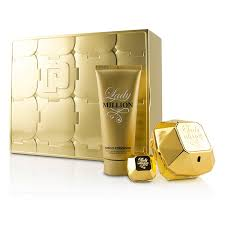 paco rabanne lady million coffret