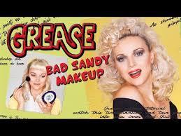 grease sandy makeup hair you