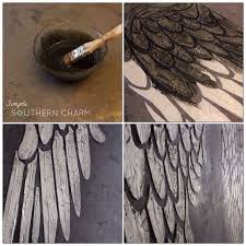 angel wings stencil modern masters