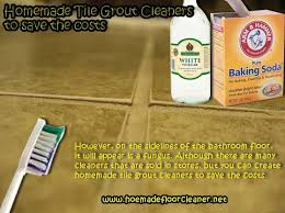 homemade tile grout cleaners to save