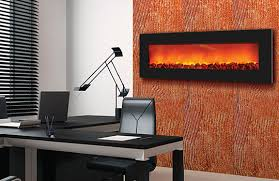 slim 54 wall mount electric fireplace