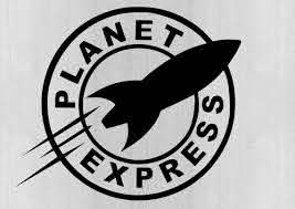 Planet Express Futurama Vinyl Car Window Decal Sticker Car Etsy