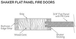 fire rated wood doors simpson door