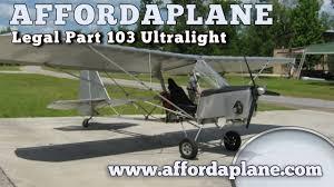 plans built ultralight aircraft