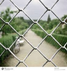 Safety First Fence Wire A Royalty Free Stock Photo From Photocase