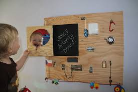 Oh So Manageable Kids Activity Board
