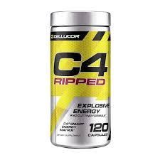 c4 ripped 120 caps cellucor