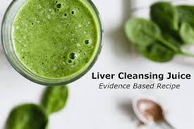 liver cleansing juice evidence based