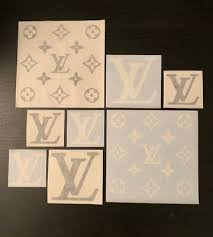 Louis Vuitton Decal Stickers 8 Pack Monogram Supreme Limited Fashion Los Angeles 8 00 Picclick