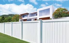 Hamptons Style Fence Zero Maintenance Eurowood