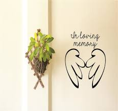 In Loving Memory Newborn Baby Memorial Quote Decal 20x20 Contemporary Wall Decals By Design With Vinyl