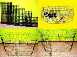 8 Panel Playpen Or Cat Dog Fence 6 Sizes Lowest Price Pets Supplies Pet Accessories On Carousell