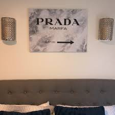 Wall Art Prada Marfa Poshmark