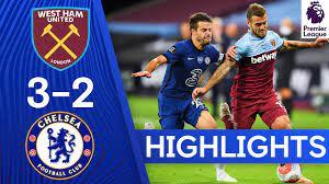 West Ham 3-2 Chelsea | Premier League Highlights - YouTube