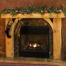 timber fireplace mantels traditional