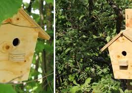 nichoir pour les oiseaux du jardin
