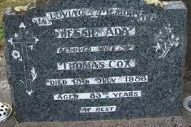 Gisborne District Council - Cemetery Database - Jessie Ada Cox