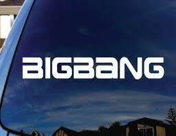 Bigbang Kpop Band Car Window Vinyl Decal Sticker 6 Wide Vinyl Decal Stickers Window Vinyl Vinyl Decals