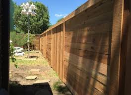 Alternating Vertical And Horizontal Picket Cedar Fence Cedar Fence Fence Design Privacy Fence Designs
