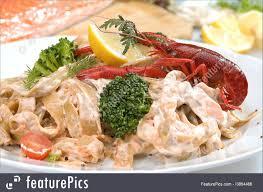 Italian Seafood Pasta Photo