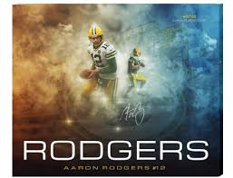 Limited Edition GB Packers Aaron Rogers Custom Canvas - Ships Free! | eBay