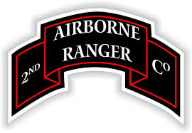 2nd Airborne Ranger Battalion Sticker Decal Us Army Military Insignia 2 6 X 4 For Sale Online Ebay