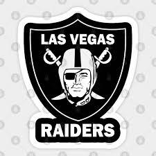 Las Vegas Raiders Las Vegas Raiders Sticker Teepublic